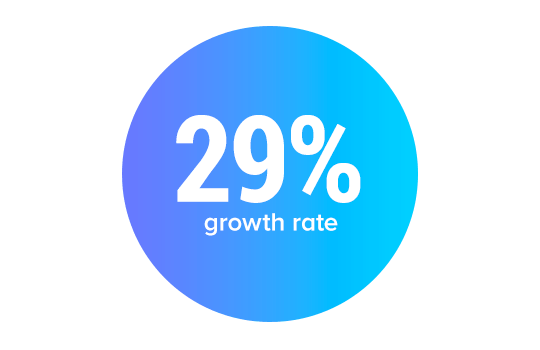 29% Growth Rate