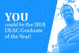 2018 DEAC Graduate of the Year