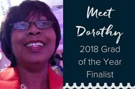 Meet Graduate of the Year Finalist, Dorothy