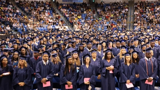 penn foster graduates at ceremony