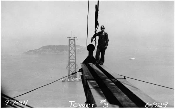 San Francisco Bay Bridge Construction