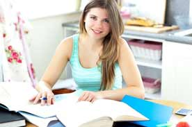 Homeschool student college prep