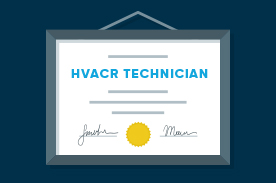 hvacr certifications