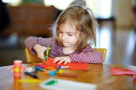 Sensory activities for early childhood development