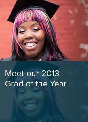 Dejaniera Thomas 2013 Penn Foster graduate of the year