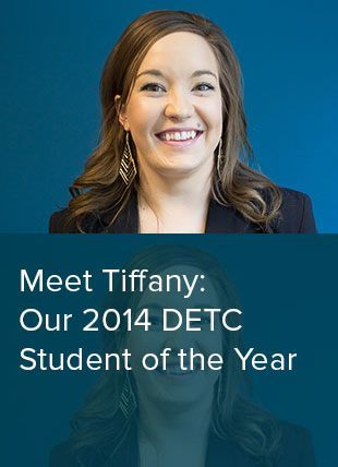 Tiffany Brown 2014 DETC Student of the Year