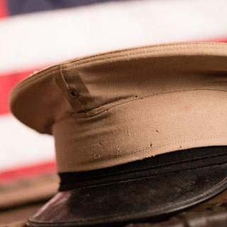 US military patrol hat